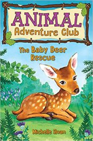 The Baby Deer Rescue (The Animal Adventure Club) - cover